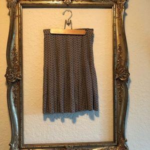 Vintage Ann Taylor Studio pleated skirt